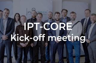 IPT-Core: Kick-off meeting